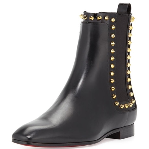 low priced 1d3a0 18e56 Christian louboutin Marianne studded boots sz 40
